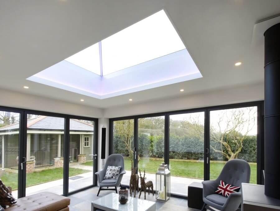 Slimline 174 Roof Lantern Ultra Slim Glazing Bars For More