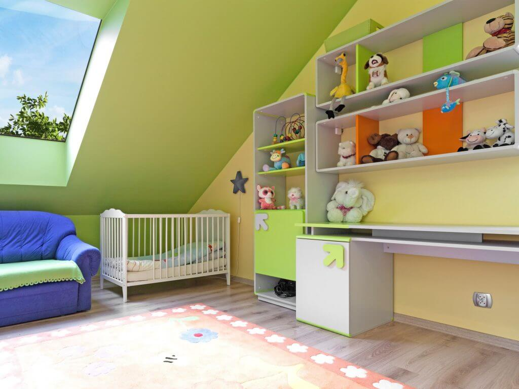 Bringing light into a child's bedroom