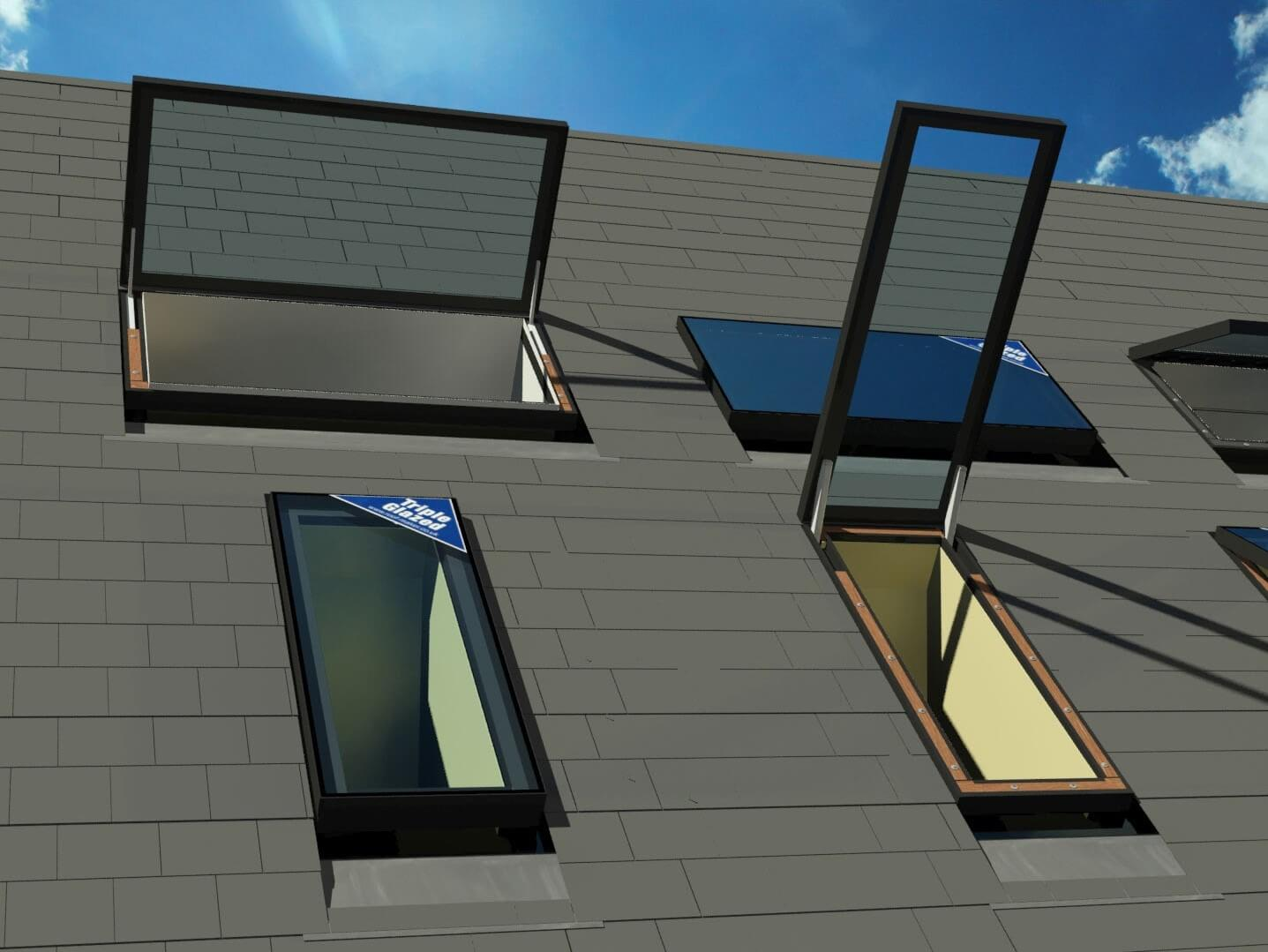 Fixed And Opening Rooflights For Pitched Roofs Roof Maker