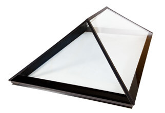 Clear Triple-Glazed Fixed Flat Rooflights