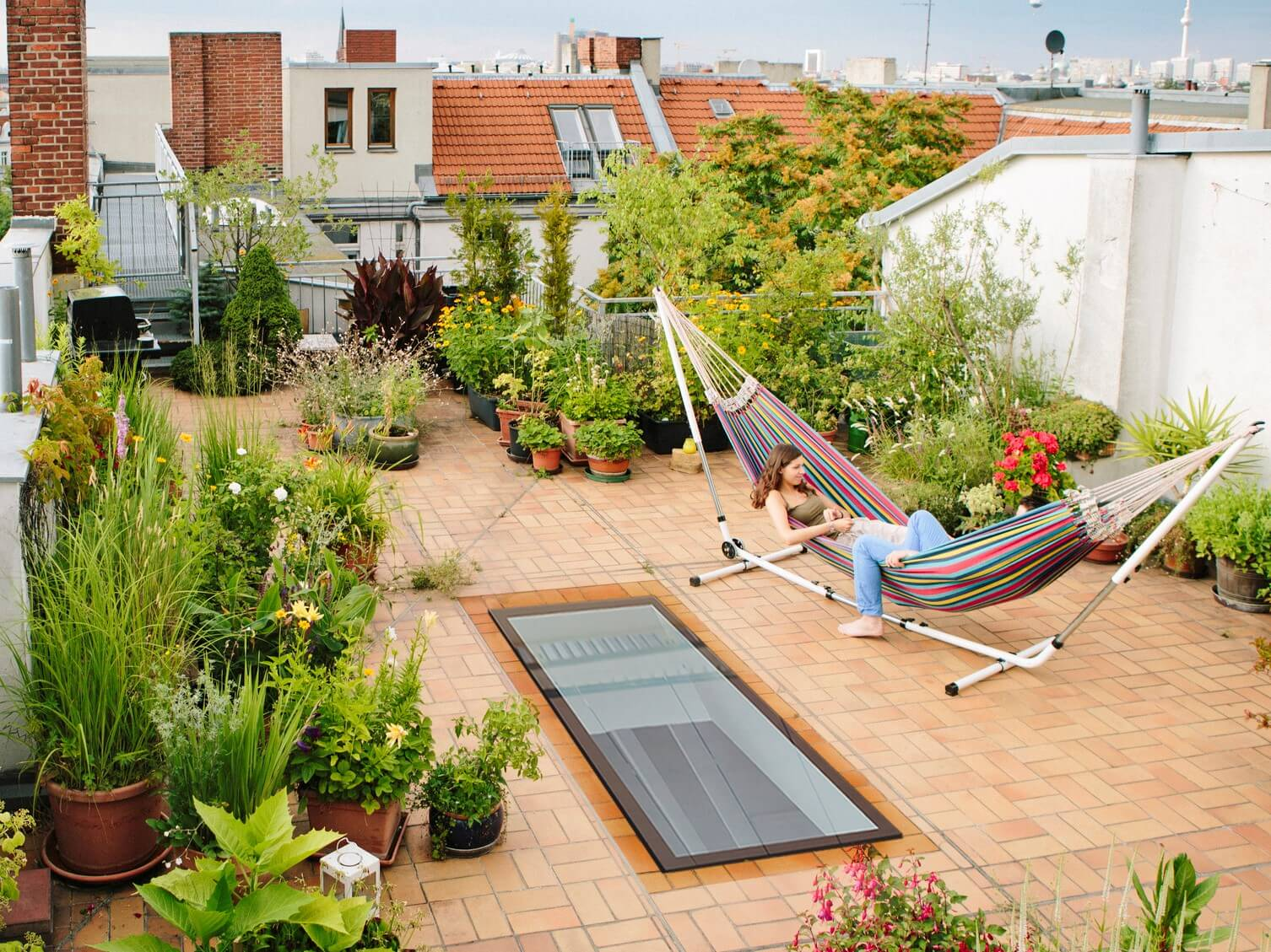 Expose your underground features with a Walk-On rooflight
