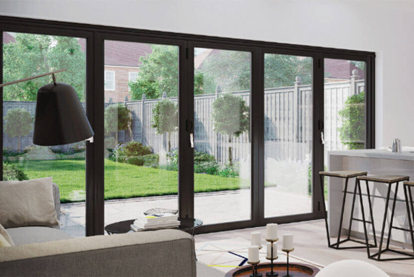 Is Thermal Glass Available for Bi-folding Doors? | Roof Maker