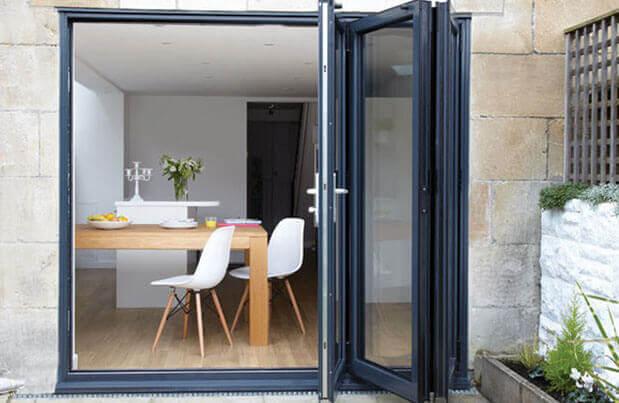 Bifold Doors aluminium bifold doors | roof maker