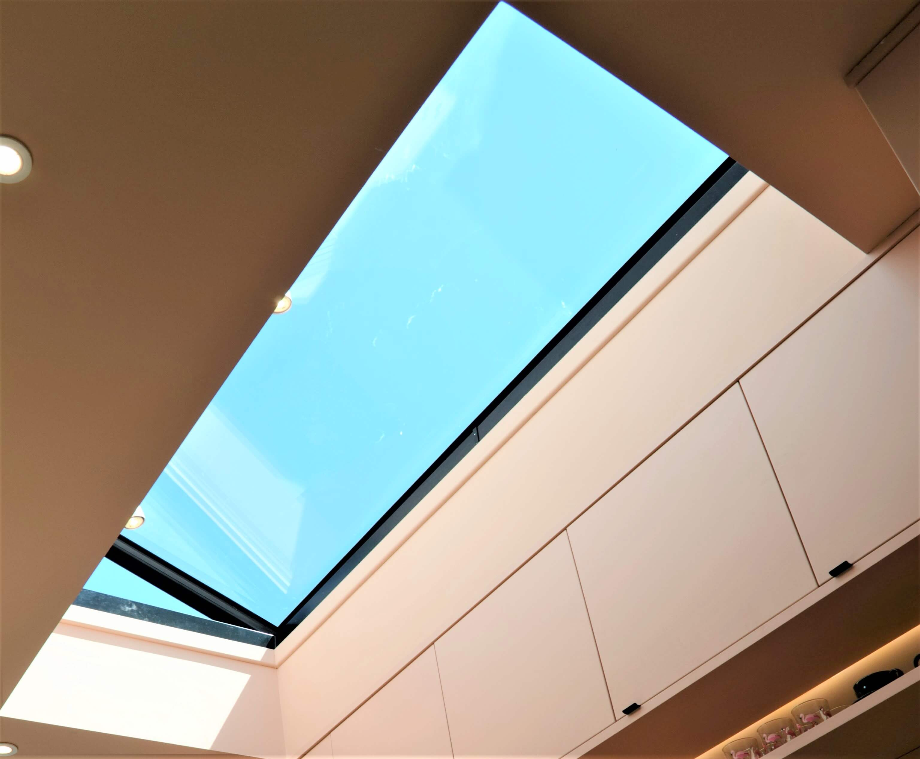 Hinged rooflight