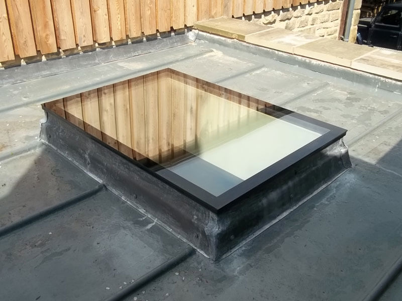 Fixed Flat Rooflights For More Natural Light Roof Maker