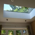 Fixed flat rooflight