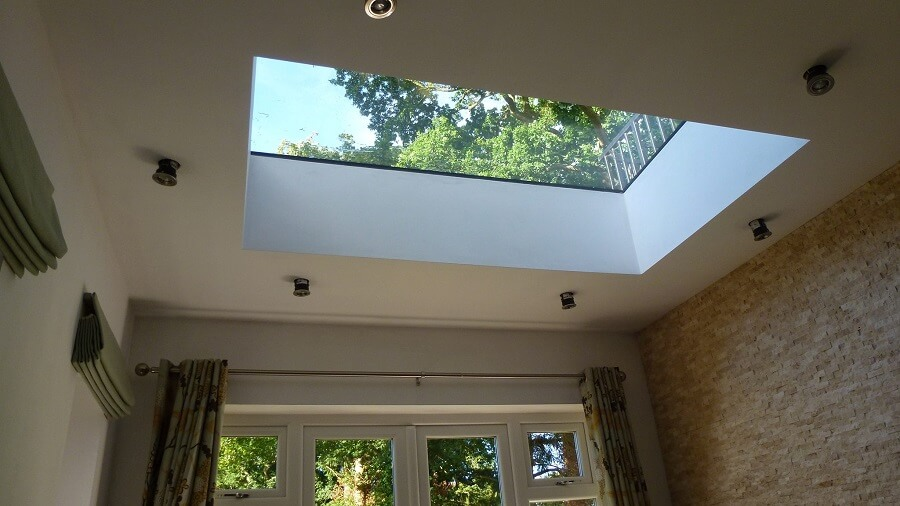 Fixed Flat Rooflights High Quality Low Maintenance