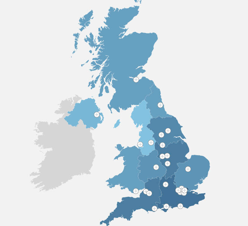 Interactive Map Of Uk.Glass Roof Designs Around The Uk An Interactive Map Roof Maker