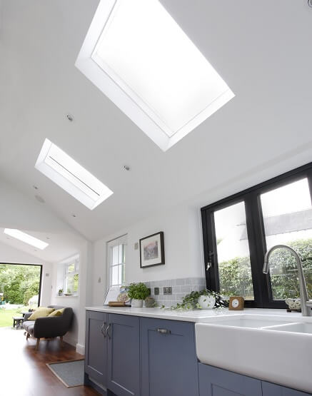 Luxlite pitched rooflights