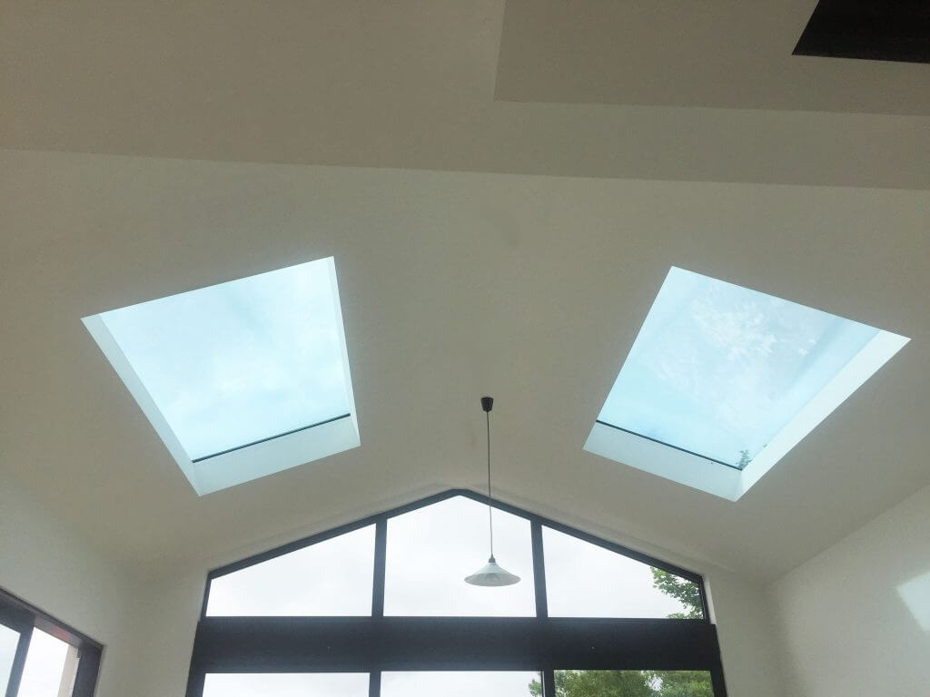 Pitched rooflights