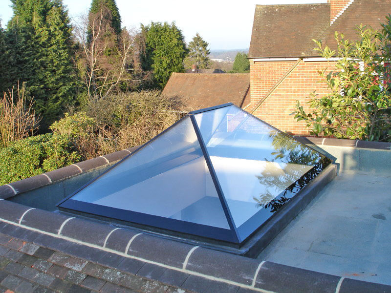 Slimline® Roof Lantern - Ultra-Slim Glazing Bars For More Light