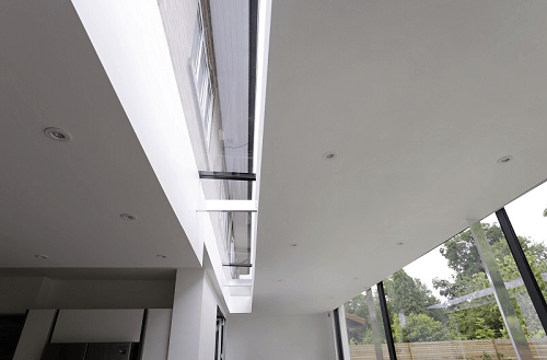 Long modular rooflight