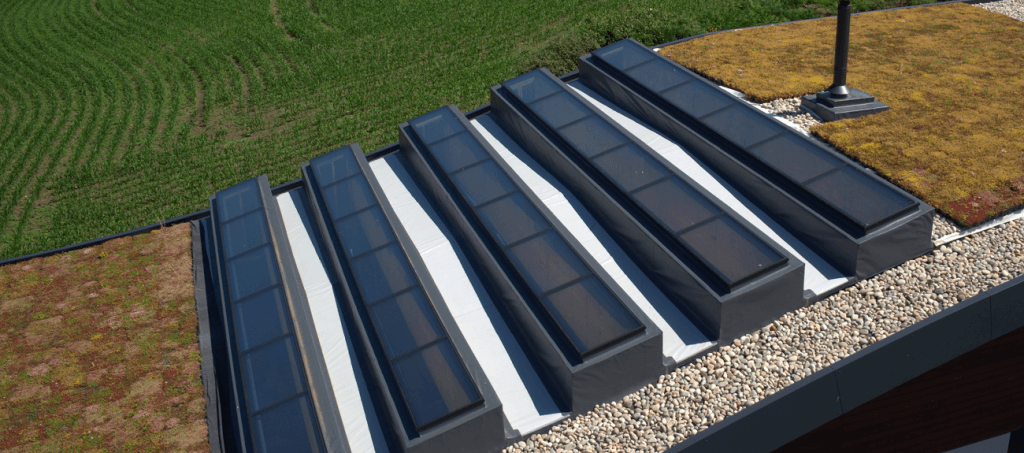 Large modular rooflight