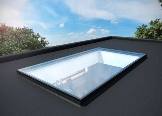 Double Glazed Flat Roof Window
