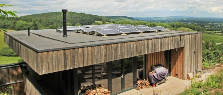 solar panels and rooflights in malvern hills
