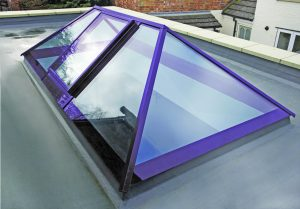 ral 4011 rooflight