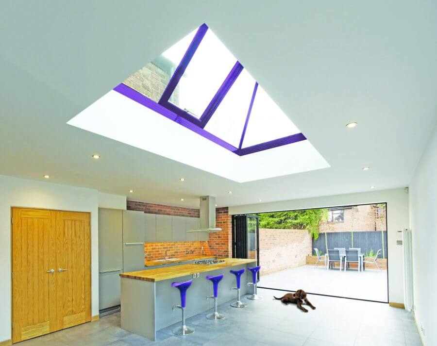 rooflight ral 4011