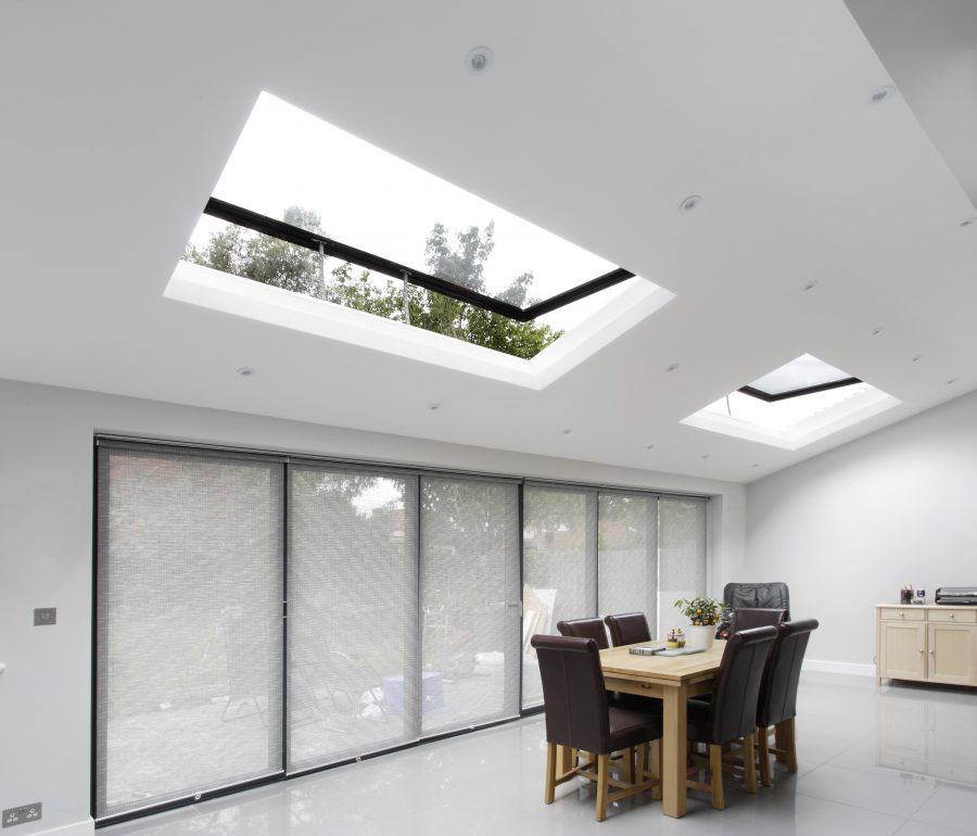 size rooflights